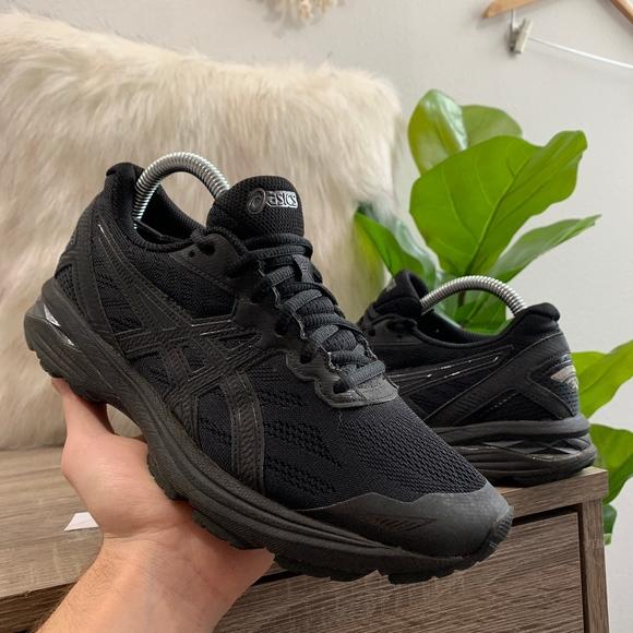 Asics Gt00 5 Womens Running Shoes Black